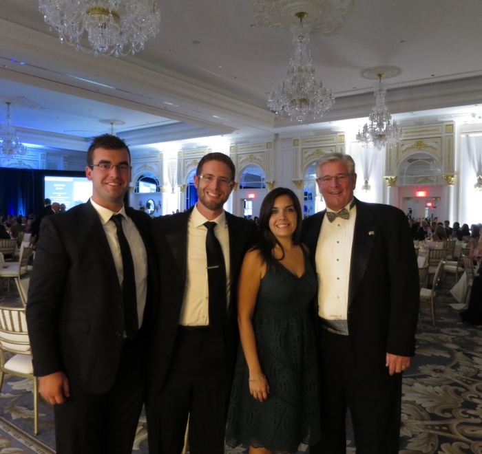 HITT Team Members at NAIOP Awards